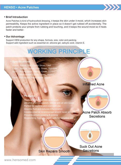 Acne Pimple Patch catalog cover page