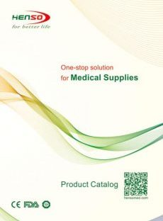 Henso Medical Supplies catalog 2018 cover page