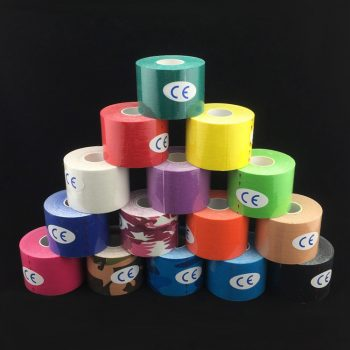 Colored Muscle Strapping Kinesiology Tape