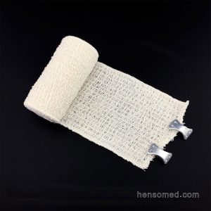 elastic crepe bandage with clips