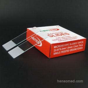 Microscope slides 7105 single end frosted on one side