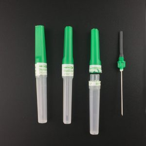 Multi sample blood collection needle