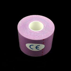 pink kinesiology tape