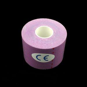 pink kinesiology tape