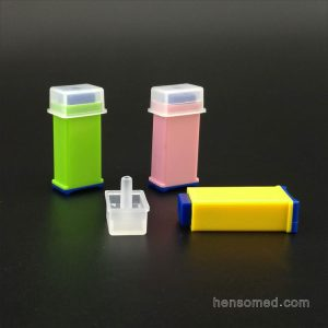 color coded safety lancet in different gauge
