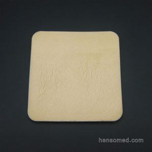 Sterile Absorbent Silicone Foam Dressing Adhesive