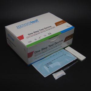 Carcinoembryonic Antigen CEA test cassette