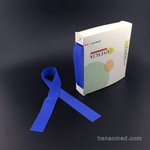 disposable latex free tpe tourniquet blue color box pack