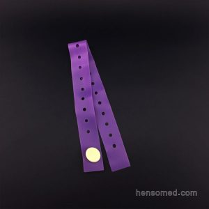 purple button tourniquet latex free tpe material