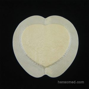 bordered silicone foam dressing adhesive