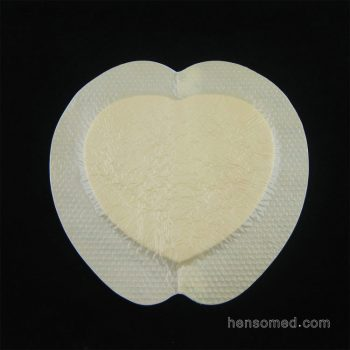 Soft Silicone Foam Dressing with Adhesive Border (2)