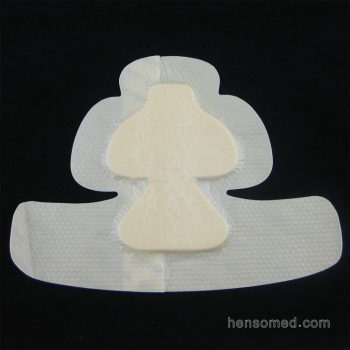 Soft Silicone Foam Dressing with Adhesive Border (3)