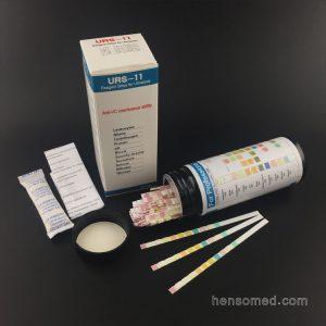 URS-11 Urine Reagent Test Strips in bottle