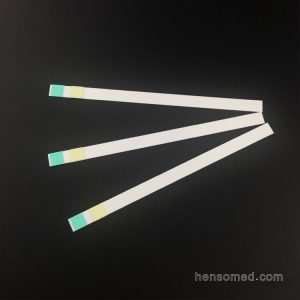 urinalysis reagent strip for glucose and protein