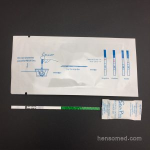 Urine Serum Pregnancy blood test strip