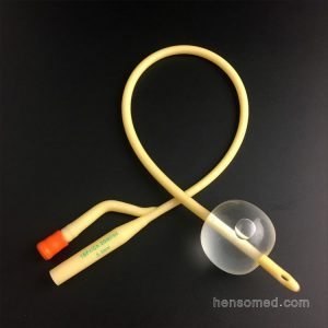 2-way Latex Foley Catheter Soft Rubber Valve