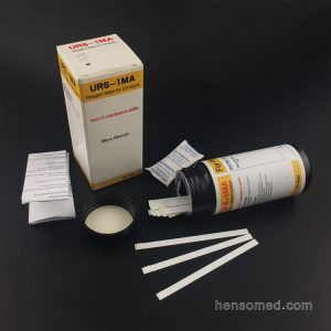 Urine Micro Albumin Test Strips in bottle