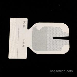 Transparent IV Dressing with V cut