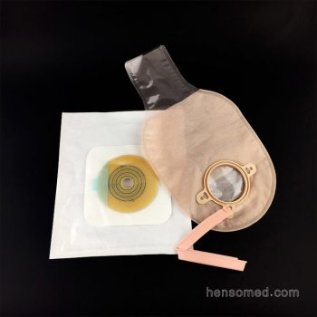 Ostomy Bag with Closure Two Piece
