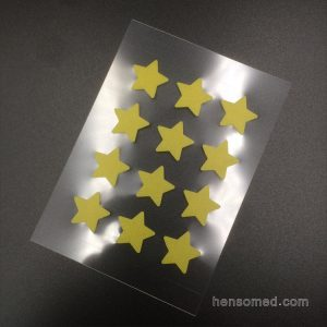 Acne Pimple Stickers yellow star