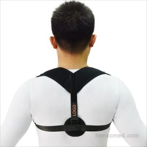 Adjustable Posture Corrector Support Back Brace for men