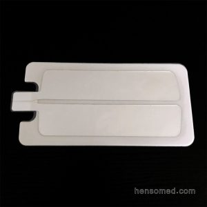 Electrosurgical grouding plate